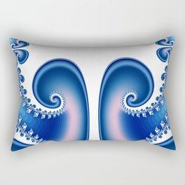 just a fractal tree -2- Rectangular Pillow