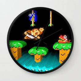 Inside Donkey Kong Junior Wall Clock