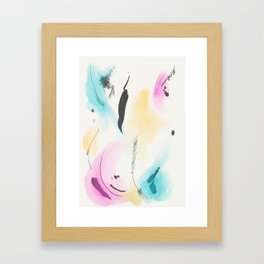 Abstract sunrise S4 Framed Art Print