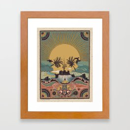 LA -Inspired by Penny Dreadful: City of Angels Framed Art Print