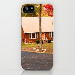 cottage in vermont iPhone Case