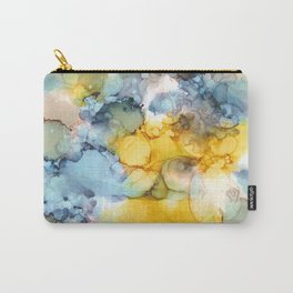 NEW Alcohol Ink 'Fools Gold' Carry-All Pouch