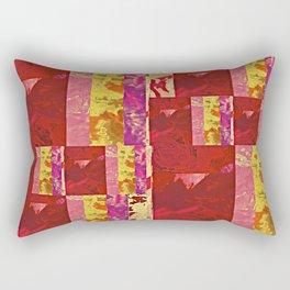 Rose Collage 97 Rectangular Pillow