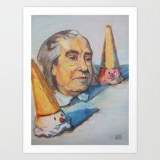 Jeremy Bentham Art Print