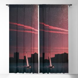 Sailing Into Daylight Blackout Curtain
