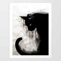 The tail Art Print