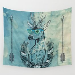 Oh  Deer! Wall Tapestry
