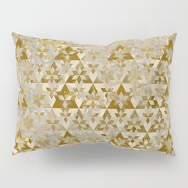 Triangles Sacred Geometry Pattern Pillow Sham