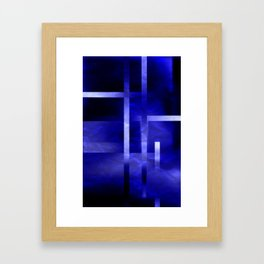 Blues and Blues Framed Art Print
