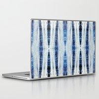 nori Laptop & iPad Skins featuring Nori Blue by Nina May Designs