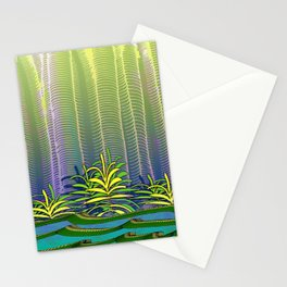 Tropical Yellow Jungle Stationery Cards