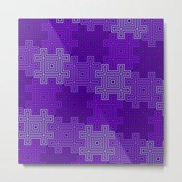 Op Art 109 Metal Print