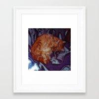 sleeping beauty Framed Art Prints featuring Sleeping Beauty by Lucia