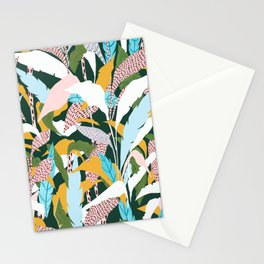 Fragmented Jungles Stationery Cards
