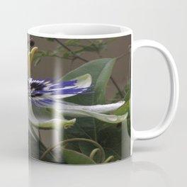Close Up of Beautiful Passiflora Flower Coffee Mug