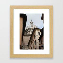 old world religion Framed Art Print