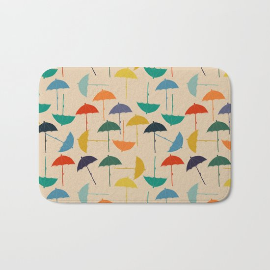 Sun umbrella Bath Mat