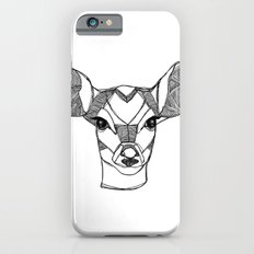 Monochrome Deer by Ashley Rose iPhone 6s Slim Case