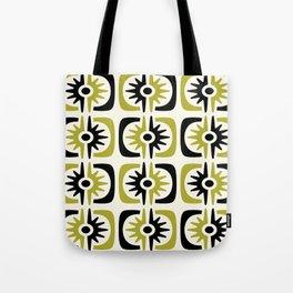 Mid Century Modern Big Bang Pattern Tote Bag