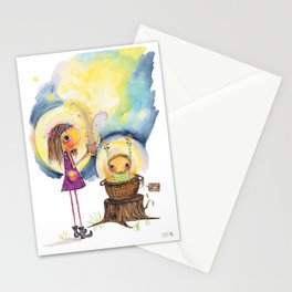 Addison the Light Catcher Stationery Cards