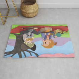 Dragon Age - Varric and Cole Picnic Rug