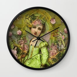 Garden Delight Wall Clock