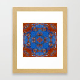 Kap Kaleidoscope Abstract 02 Framed Art Print