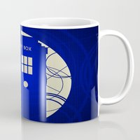 doctor who Mugs featuring Doctor Who by LukeMorgan