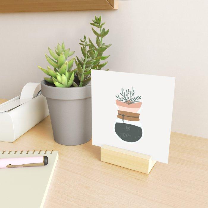good coffee good life Mini Art Print