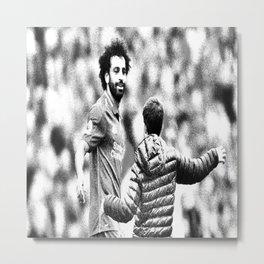 Mohammed Salah respected Metal Print