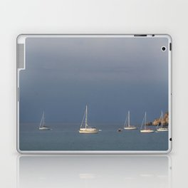 seascape: sei barche a S'ant Angelo Laptop & iPad Skin