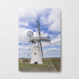 Thurne wind pump 2 Metal Print