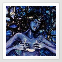 Nuit The Star Goddess Art Print