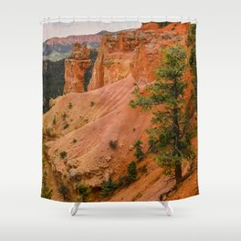 Beautiful Agua Canyon Landscape at Bryce Canyon National Park Shower Curtain