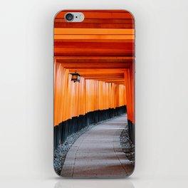 Kyoto Red Gates iPhone Skin