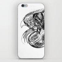 phoenix iPhone & iPod Skins featuring Phoenix. by sonigque