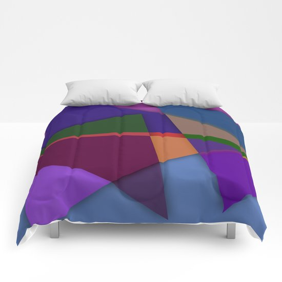 Abstract #425 Comforters