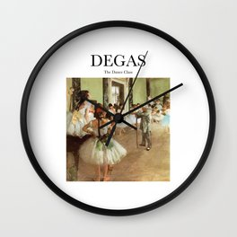 Degas - The Dance Class Wall Clock