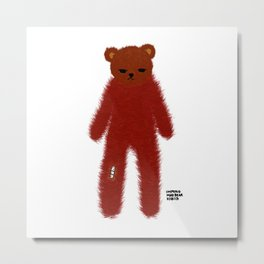Mad Bear Metal Print
