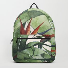 Tropical Flora I Backpack