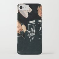 talking heads iPhone & iPod Cases featuring Talking Heads  by Daniel Madeline