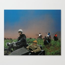 Sidecars & Cowboys Canvas Print