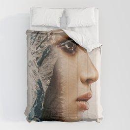 Doubel Exposure Mountain Comforters