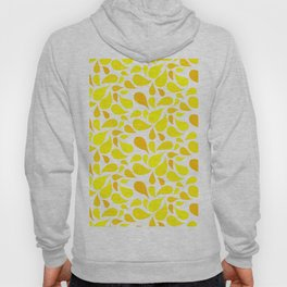 Blossom pattern Yellow Hoody