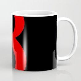 8 (RED & BLACK NUMBERS) Coffee Mug
