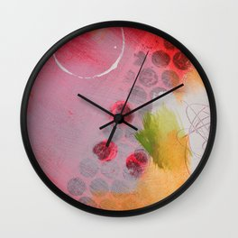 Say You Don't Mind Wall Clock