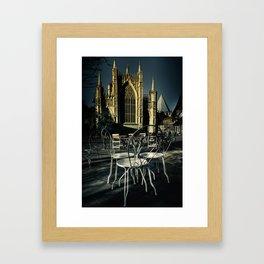 York Cafe Framed Art Print