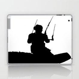Wakeboarder Kitesurfing Silhouette Laptop & iPad Skin
