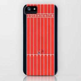 Hurdle Race iPhone Case