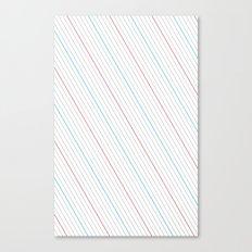 Simple Lines Canvas Print